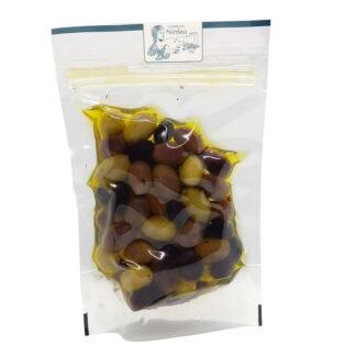 olive miste in olio extravergine di oliva