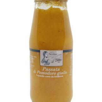 passata di pomodoro gialllo 100% puglia